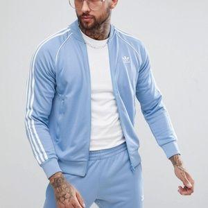 Adidas ASOS Light Blue Track Jacket